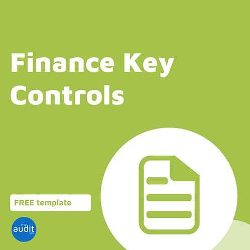 CC1 - Finance Key Controls