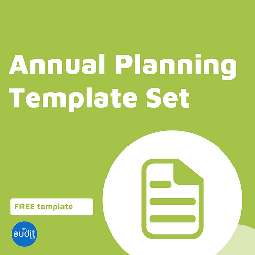 Annual Planning Templates - Complete Set