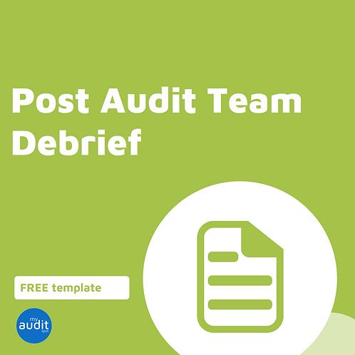 D8 - Team Debrief