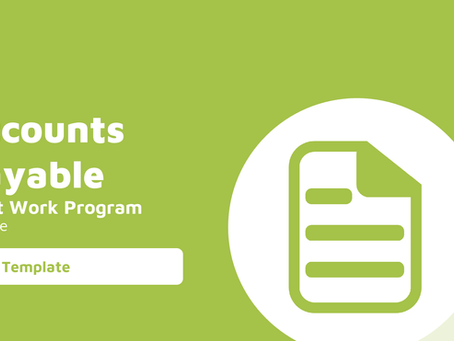 Accounts Payable Audit Work Program