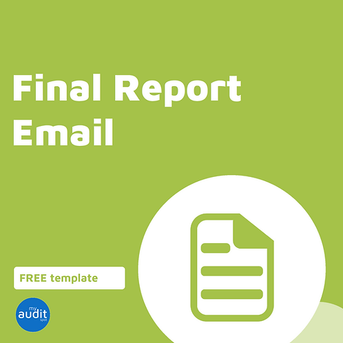 D6 - Final Report Email