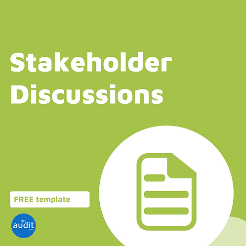 AP5.1 - Stakeholder Discussions Checklist