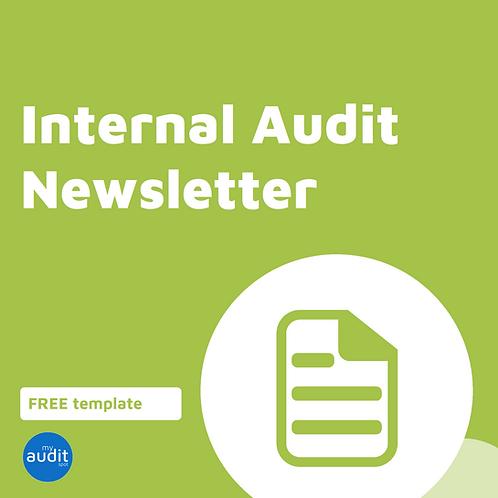 AFM9.1 - Internal Audit Newsletter