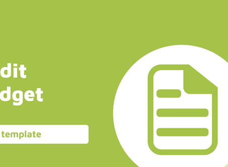 Audit Planning - Audit Budget Template Workpaper
