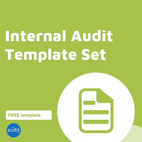 Internal Audit Templates - Complete Set