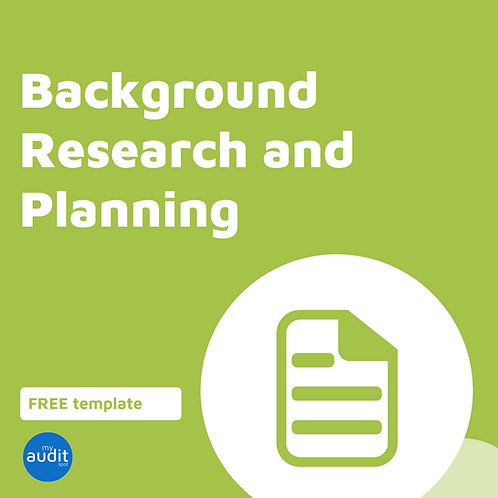 B1 - Background Research and Planning