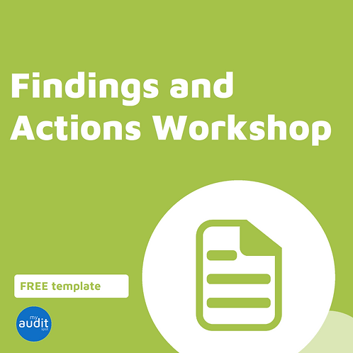 D4 - Findings and Actions Workshop