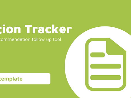 Internal Audit Recommendation Action Tracking