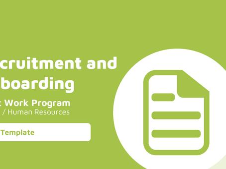 Recruitment and Onboarding Audit Work Program