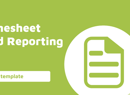 Timesheet and Reporting Template