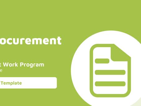 Procurement Audit Work Program
