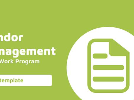 Vendor Management Audit Work Program