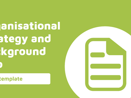 Annual Planning - Organisational Strategy and External Information