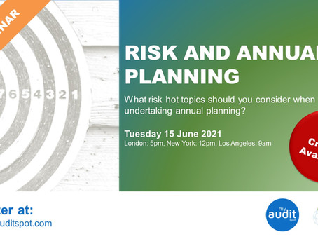 LIVE WEBINAR: Risks and Annual Planning