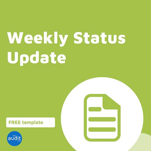 AFM8. Weekly Status Update