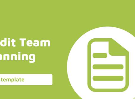 Audit Planning - Audit Team Planning Template Workpaper