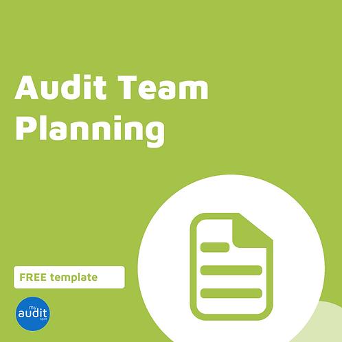 B5 - Audit Team Planing Meeting