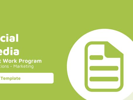 Social Media Audit Work Program