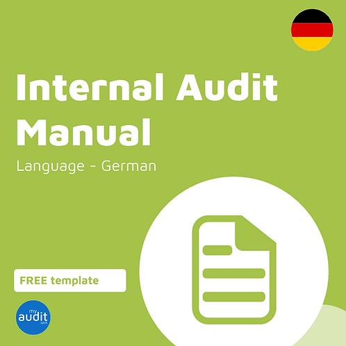AFM4 - Internal Audit Manual - German
