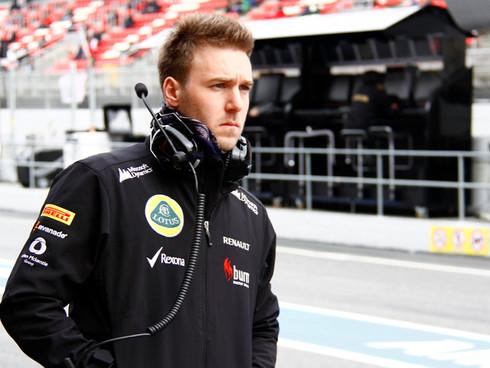F1 - Debutto di Davide Valsecchi su Lotus E21