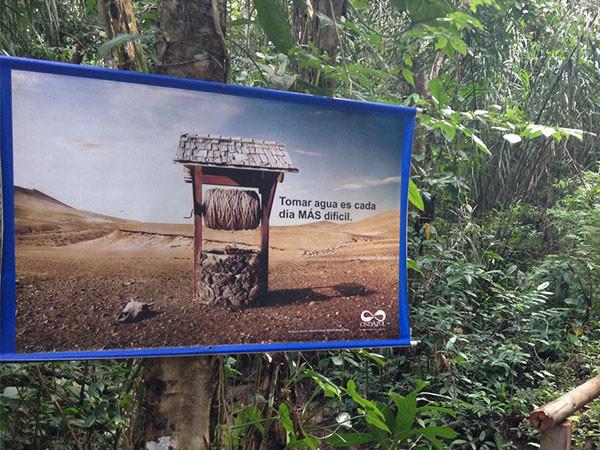Visual de sendero ecologico