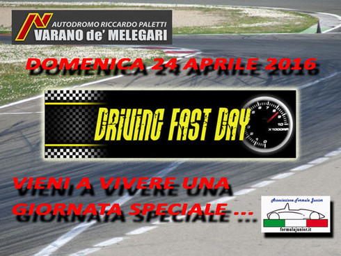 Formula Junior - DRIVING FAST DAY