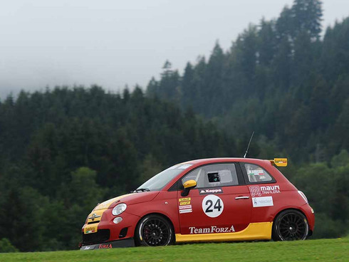 Matteo podio al Red Bull Ring