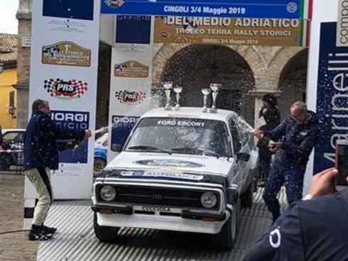 Andrea Guggiari e Samuele Sordelli trionfano al Rally Storico del Medio Adriatico