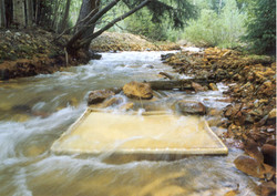 River Painting Process Photo