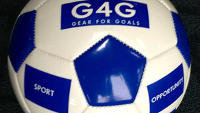 """G4G Sport for Hope Soccer Balls – """"One Gives One"""""""