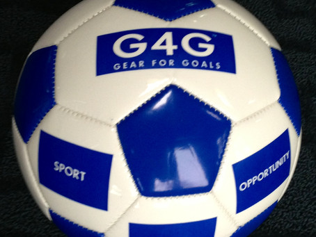 "G4G Sport for Hope Soccer Balls – ""One Gives One"""