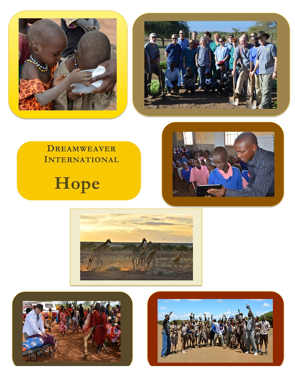 Dreamweaver International Helping the Needy become Needed