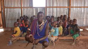 School in Kenya, East Africa