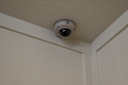 Cameras are located in inside and outside areas, and all suites so you can monitor your pet while yo