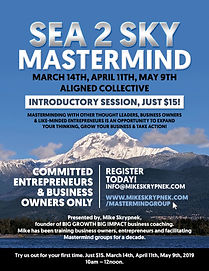 Mastermind poster with Mar Apr May dates