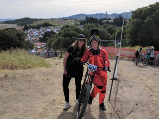 DH Race day at Sea Otter