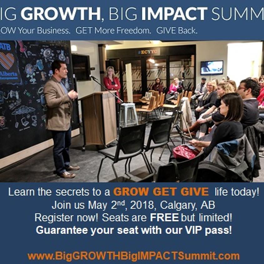 Big GROWTH Big IMPACT Summit