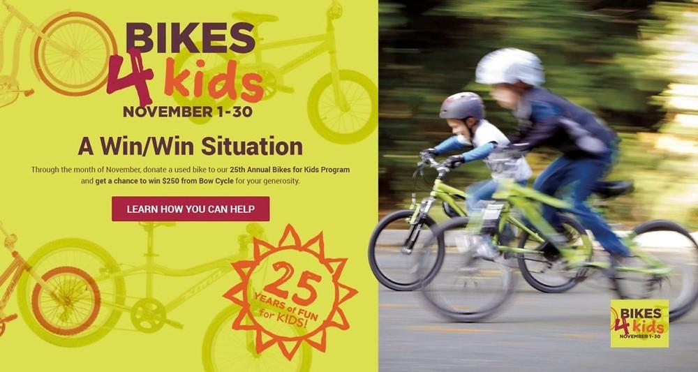 Bikes4Kids BowCycle rocks!