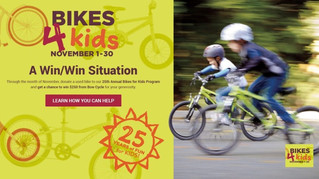 Last day of Bikes4Kids