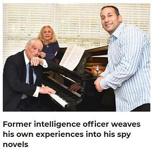 Major Outlet Writes About Harris L. Kligman Former Intelligence Officer & His Spy Novels