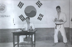Harris L. Kligman Black Belt Korea