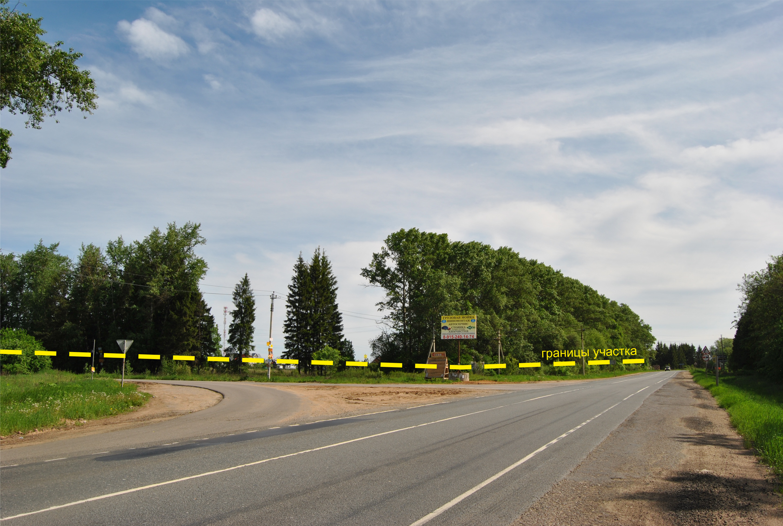 Подъезд к участку в д. Хоругвино