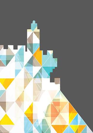 לוגו 50 שנה למוזיאון דוד המלך