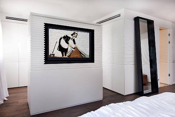 חדר שינה לבן