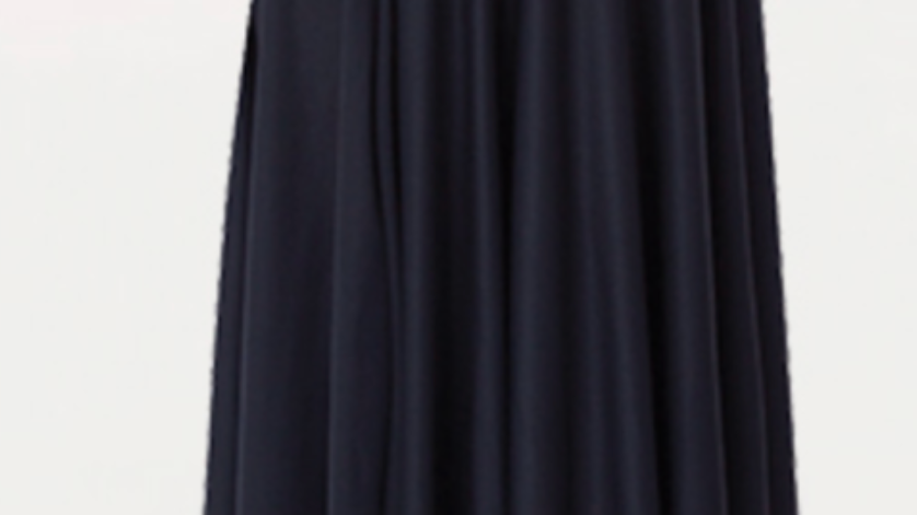 Body Wrappers 0511 Below the Knee Circle Skirt