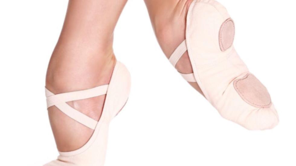 So Danca SD16S Split Sole Canvas Ballet Shoe