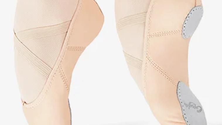 Capezio 2027 Juliet Split Sole Leather Ballet Shoe