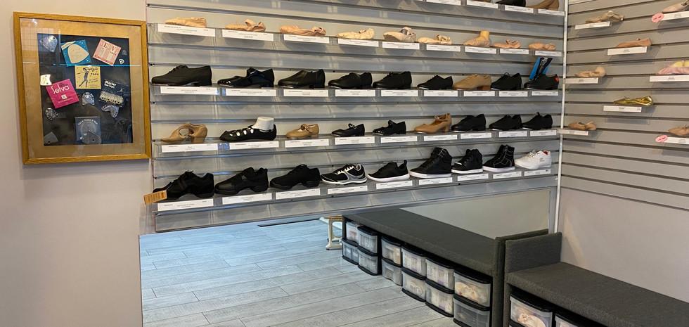 Display Shoe Wall