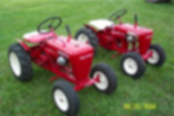 Two Wheel Horse tractors from Packrat's collection