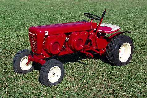 Custom Built 1963 Wheel Horse (with 2 engines)